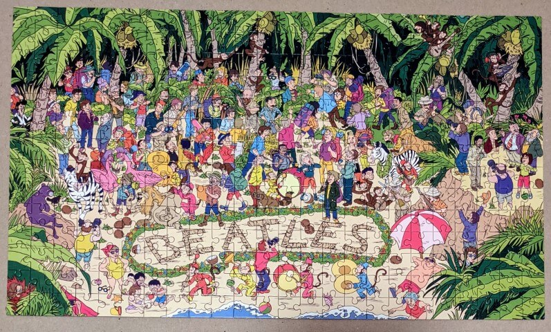 Where are The Beatles? 300 piece jigsaw.